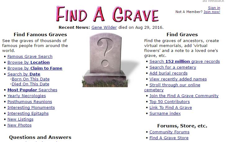 9 Top FREE Genealogical Websites – Day 9