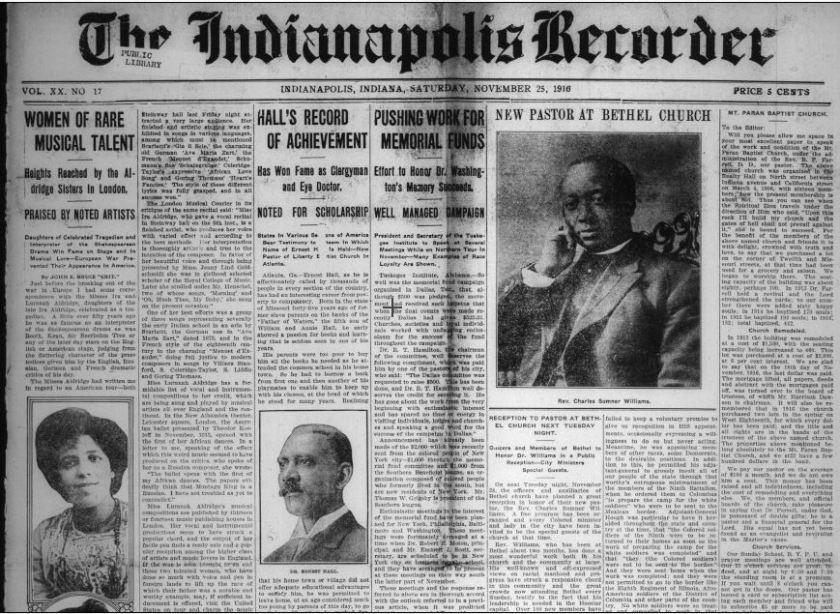 Black Newspaper Resources