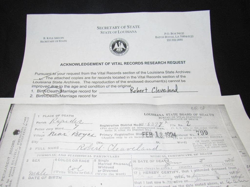 All About Louisiana Birth Certificate Death Record Vital Records